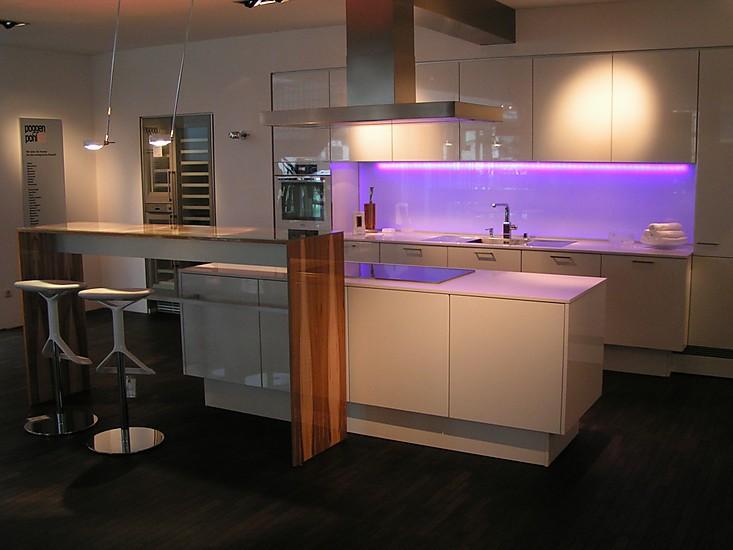 Exklusive weiße Küche - Luxusküchen